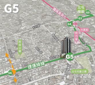 台中捷運綠線年底試運轉 G5、G11站土地開發招商明公告