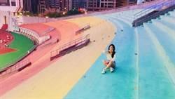 鮮豔又大片!嘉義隱藏版彩虹景點,網讚:拍到不想離開