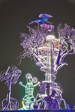 藝術家操刀 在地風情燈上舞台
