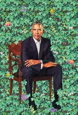 歐巴馬戴勞力士畫像曝光