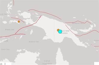 地牛翻身 巴布亞紐幾內亞發生規模7.5地震