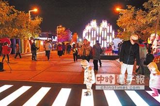 來嘉看台灣燈會 互動體驗夯