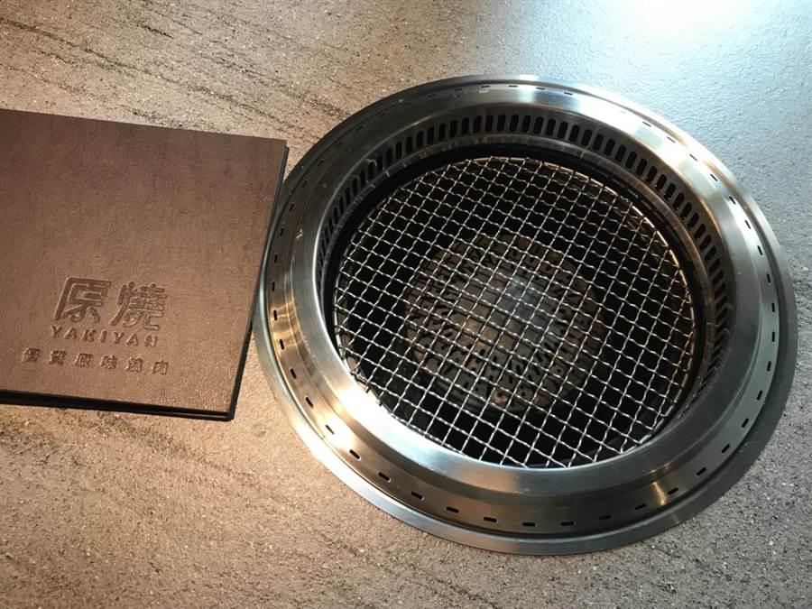 shinpo品牌烤爐號稱烤爐界的愛馬仕。(原燒提供)