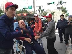 八百壯士怒吼!反年改團體突襲立院 吳斯懷遭衝撞送醫