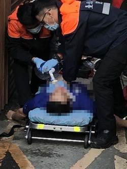 影》墜樓畫面曝光!退役上校繆德生墜樓重傷 加護病房觀察中