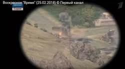 真假不分!紀念敘戰英雄 俄國營電視用電玩畫面