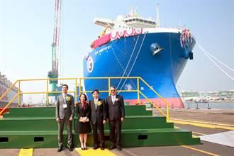 台船再次展現優異造船實力「升級版」潛舉式重載船命名