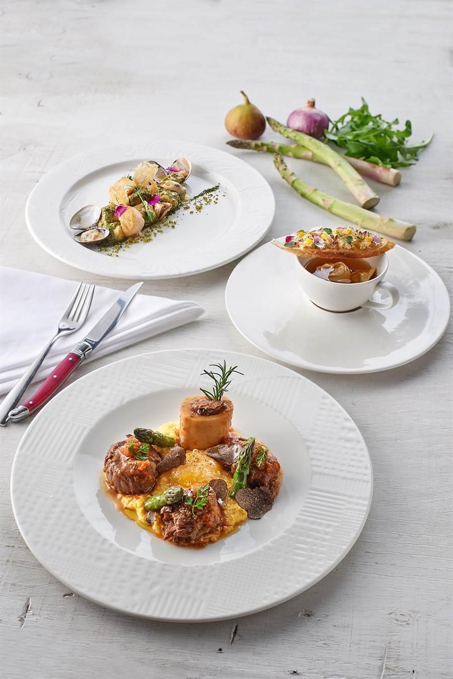 台北美福大飯店即日起推出托斯卡尼風味餐。(台北美福大飯店提供)