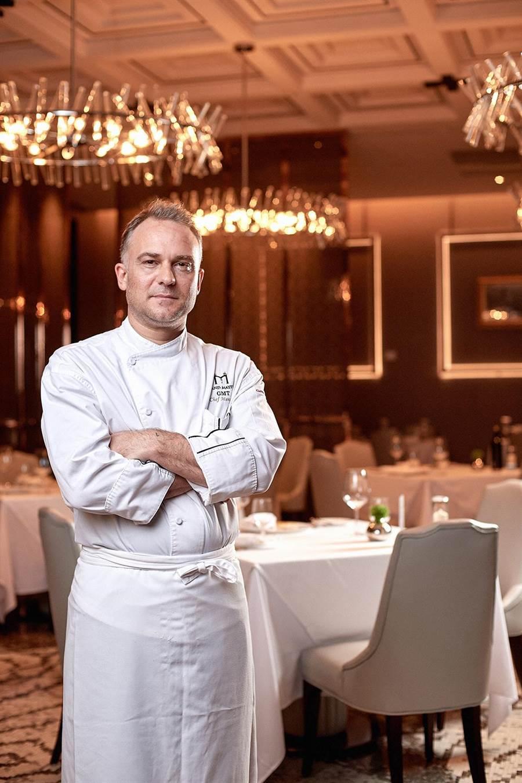 台北美福大飯店新上任的西餐總主廚Massimo Picci。(台北美福大飯店提供)