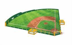 全台首座室內充氣球場「迷你綠色怪物」 首現Mini Baseball春季大會