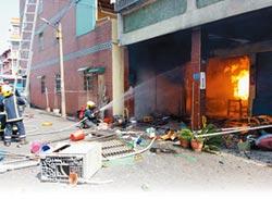自宅引爆5桶瓦斯 婦成焦屍