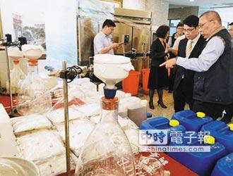 陸製毒師被逮 扣K毒1762公斤