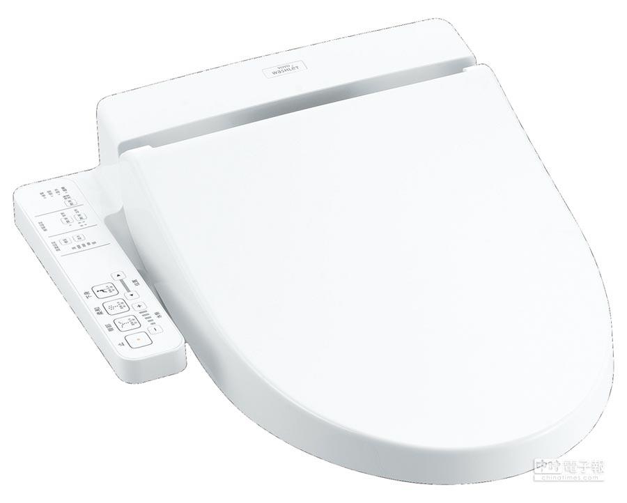 TOTO WASHLET溫水洗淨便座基本款SI。(TOTO提供)