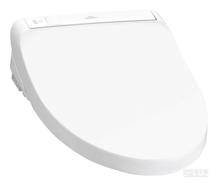 TOTO WASHLET溫水洗淨便座進階款T1。(TOTO提供)