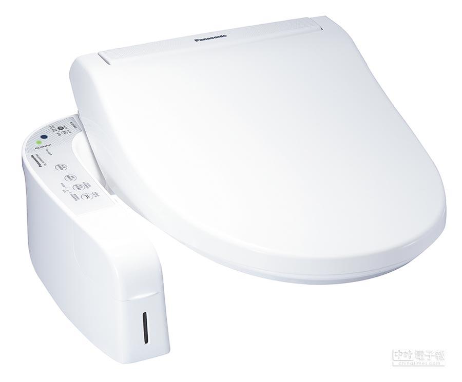 Panasonic溫水洗淨便座DL-ACR500TWS。(特力屋提供)
