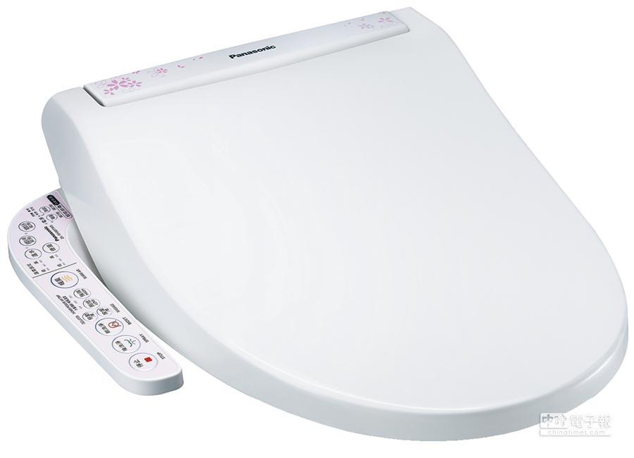 Panasonic溫水洗淨便座DL-EH30TWS。(特力屋提供)