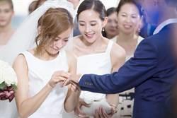 陳意涵婚禮邀張鈞甯當伴娘 尖叫挑戰穿白紗跳傘