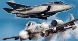 美國將評估F-35空中支援火力 並與A-10比較