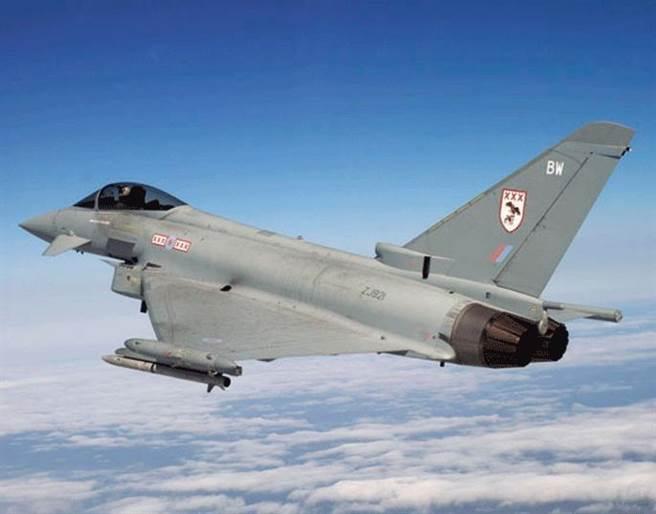颱風戰鬥機。(圖/Hamodia網)