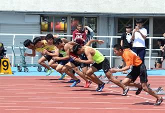 台東中小學運動會 烈陽下激賽3人破紀錄