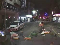 台中2車路口相撞駕駛受困3人傷