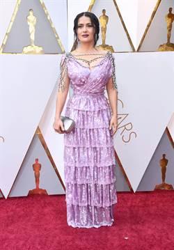 時尚圈鬆口氣 奧斯卡紅毯不是黑鴉鴉
