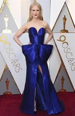 奧斯卡紅毯三美 50歲妮可領銜奪冠