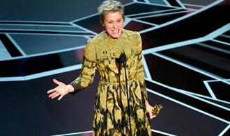 法蘭西絲麥朵曼二奪奧斯卡影后 邀所有入圍女性起身共享榮耀