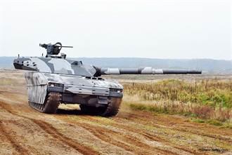 瑞典CV90120T輕戰車 具有不輸主戰車的火力