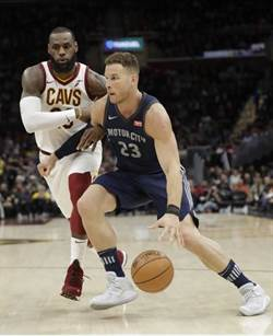 NBA》第三節提早收工 詹皇帶領球隊大勝活塞
