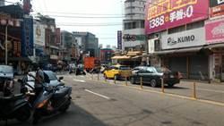 中市逢甲商圈福星路路平啟動 拚3月8日完工