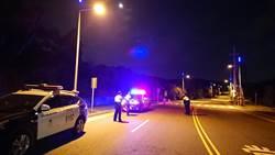 防止郊區成治安死角 中市警加強路檢攔查