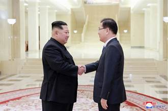 南韓特使與金正恩會談 遞交文在寅親筆信