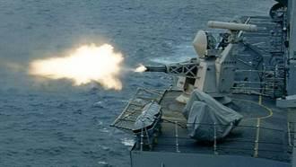 大口徑艦用近迫防禦系統:守門員快砲