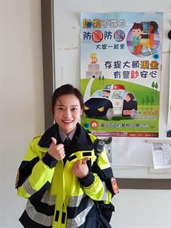 機車騎士身體不適路倒  熱心女警發現助送醫