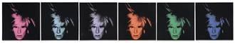 安迪沃荷《六幅自畫像》以逾9.19億台幣高價成交