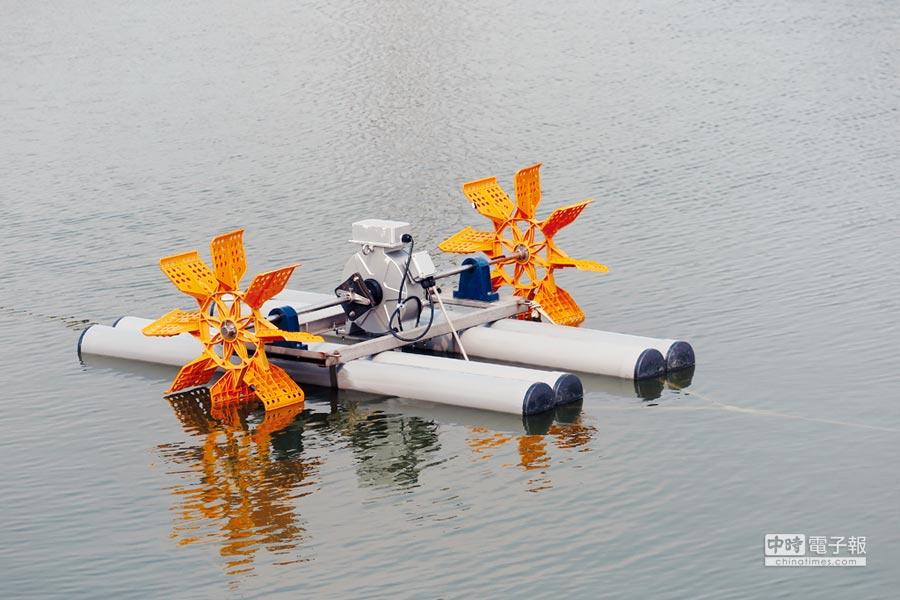 旺欣直流變頻水車 省能45%