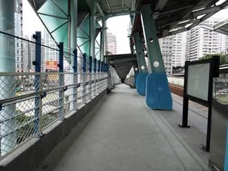 汐科站月台狹窄 台鐵斥資3200萬拓寬