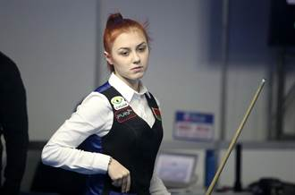 安麗盃首日二敗 白俄羅斯正妹:我太緊張了!