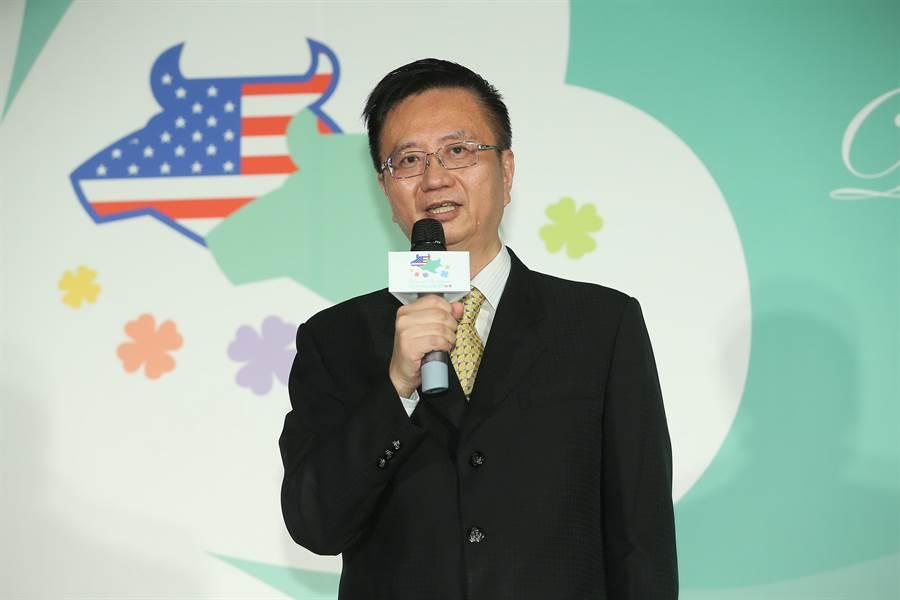美國肉協台灣區處長吳秋衡表示,台灣人就是愛吃美牛,今年美牛進口量可望上看4.2萬噸。(圖/美國肉協)