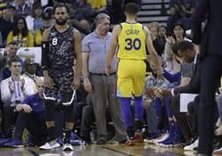 NBA》柯瑞又傷退!杜蘭特末節領軍勇士逆轉勝