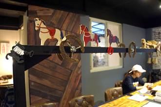 富錦街Cafe Mode木馬咖啡 跨界美食「釣以清新」