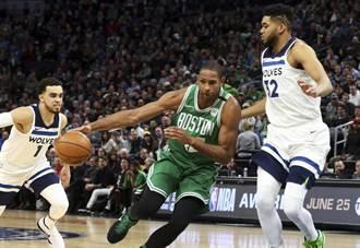 NBA》布朗重摔倒地 塞爾提克驚魂未定贏球晉級