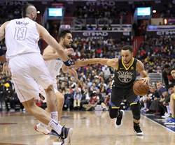 NBA》柯瑞右腳踝消腫 預估只會缺席2場