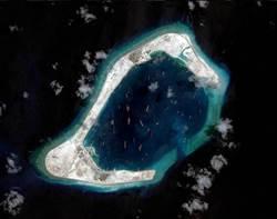 美軍P8A巡邏機偵察渚碧礁等4島礁  大陸軍方廣播令離開