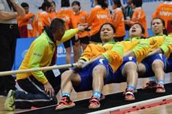 景美師大拔河聯隊銀恨 世界盃500公斤組敗給大陸