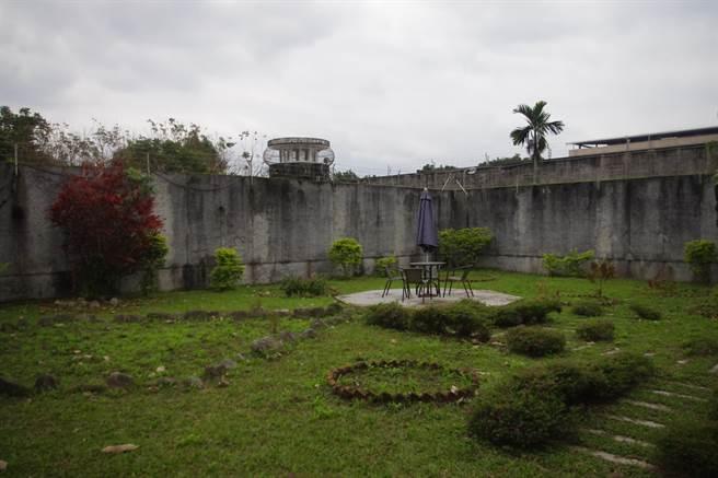 花蓮監獄的懇親宿舍區景色宜人,提供配偶與受刑人短暫的約會天地。(許家寧攝)