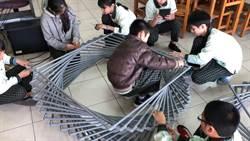長興國小迎百年校慶 學子當創客打造聖火台