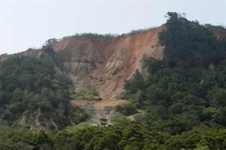 大甲鐵砧山北側崩塌嚴重 5月展開治山