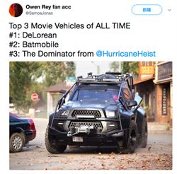 《玩命颶風》追風車 被封影史上三大最屌車子